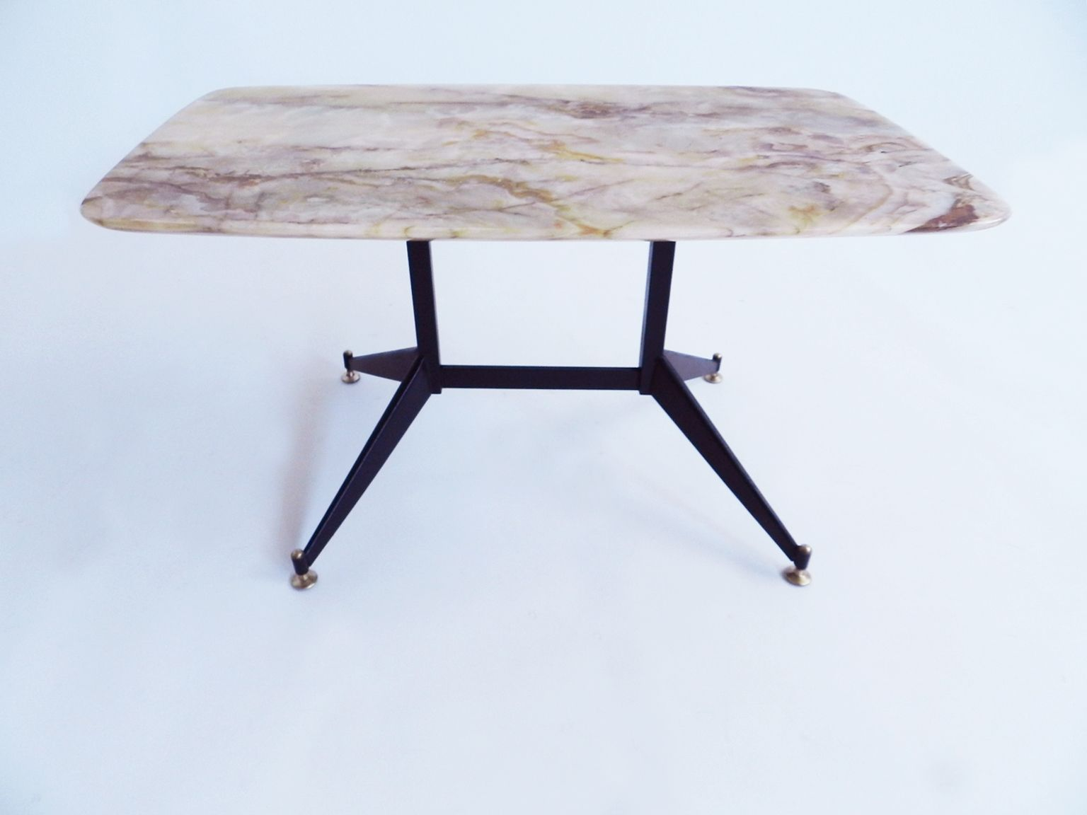 Mid Century Italian Onyx Coffee Table For Sale At Pamono
