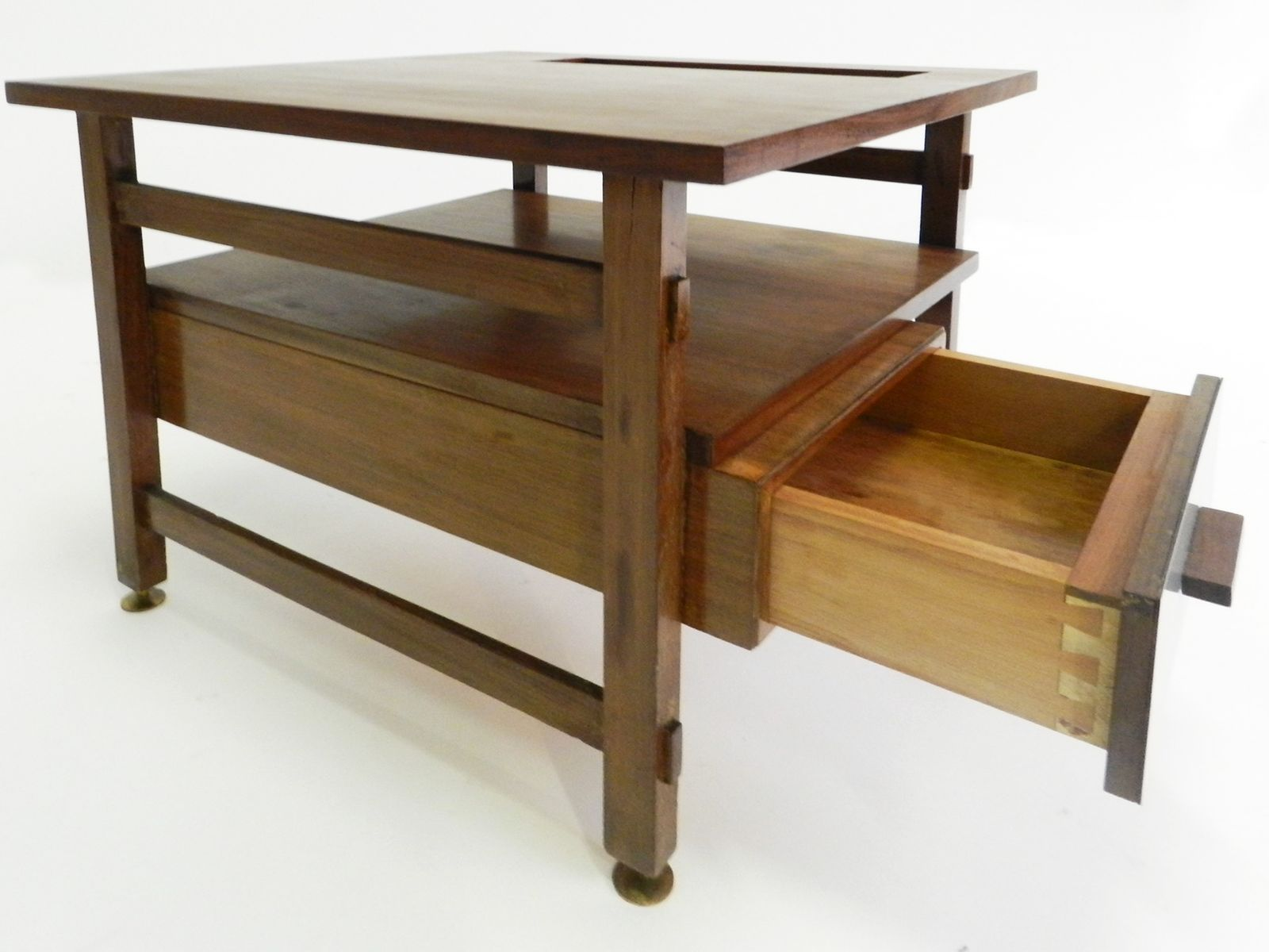 Teak & Laminate Coffee Table for sale at Pamono