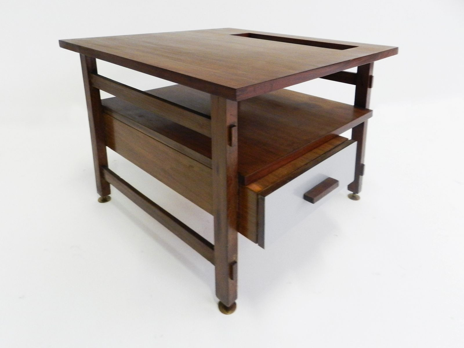 Teak Laminate Coffee Table For Sale At Pamono