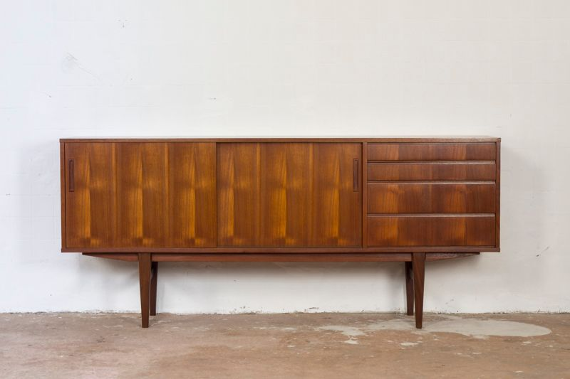 Scandinavian modern teak sideboard for sale at pamono for Sideboard scandi