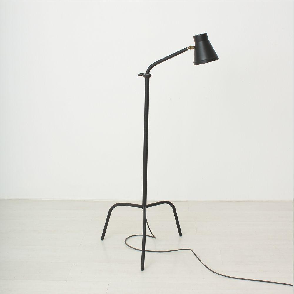 mid century stehlampe mit dreifu 1940er bei pamono kaufen. Black Bedroom Furniture Sets. Home Design Ideas
