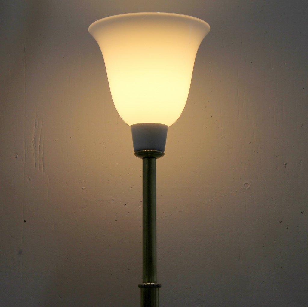 spanische art deco stehlampe von metalarte 1940er bei pamono kaufen. Black Bedroom Furniture Sets. Home Design Ideas
