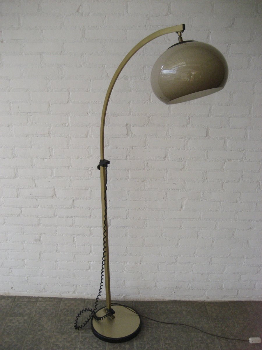 Vintage french arc floor lamp 1970s for sale at pamono for 1970s floor lamps