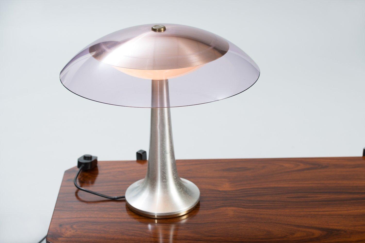 Lampada da tavolo vintage di stilux milano in vendita su for Lampadario da tavolo