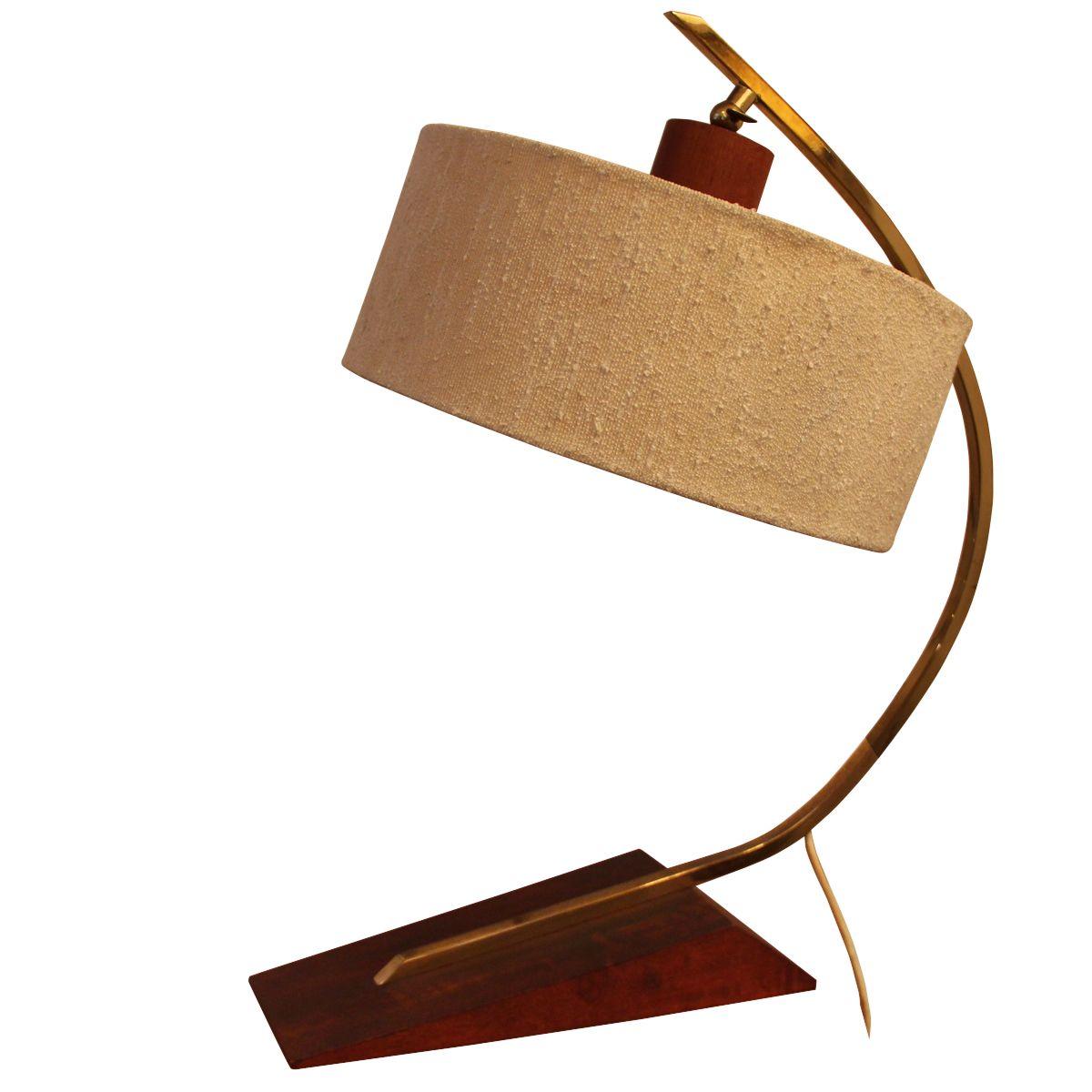 schwedische vintage teak tischlampe 1960er bei pamono kaufen. Black Bedroom Furniture Sets. Home Design Ideas