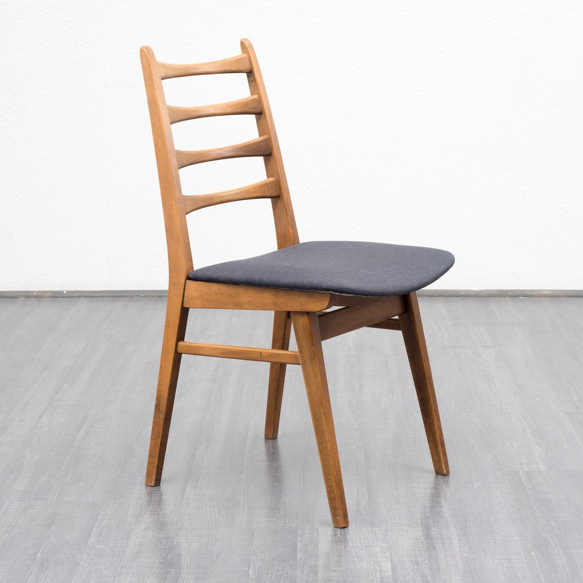 Vintage Beech Dining Chairs 1960s Set Of 4 For Sale At