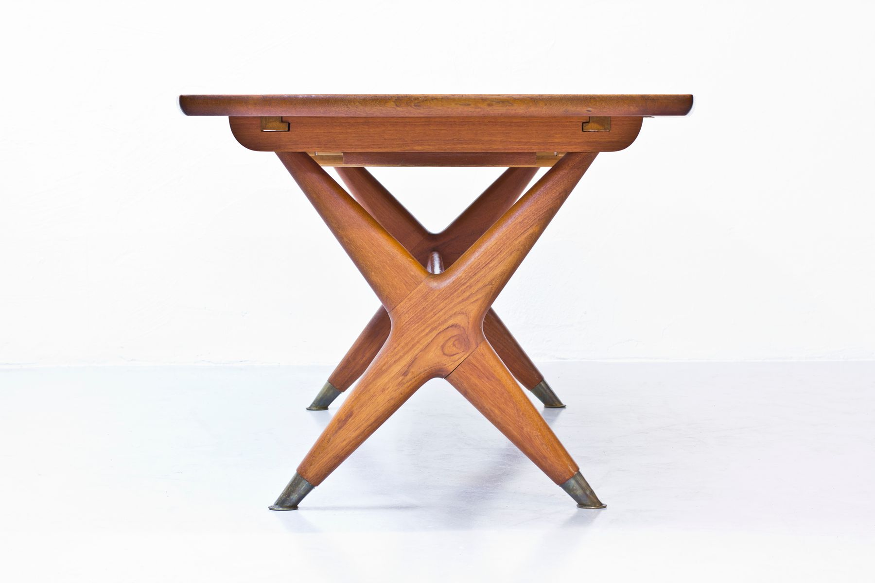 Scandinavian modern dining table by rastad relling for gustav bahus 1953 for sale at pamono - Dining table scandinavian ...