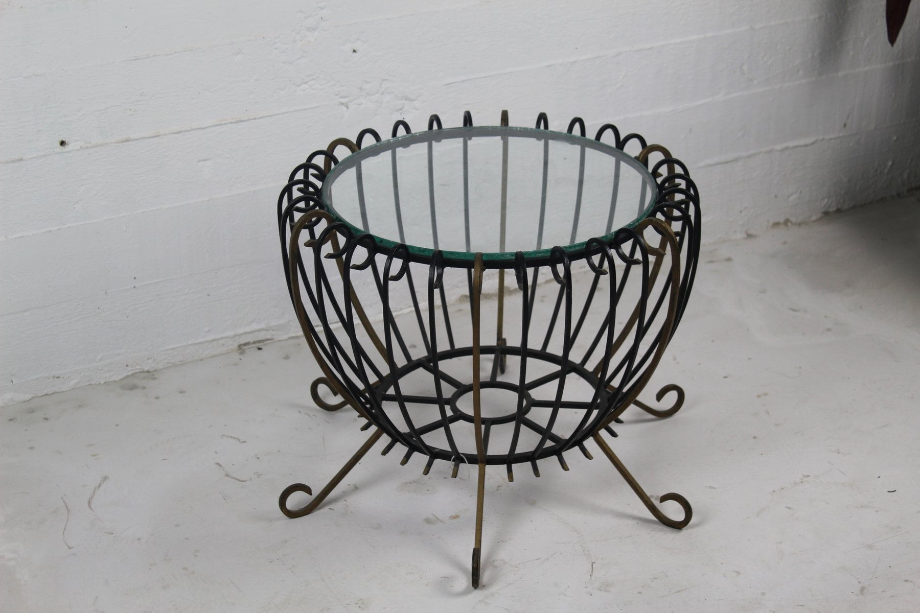 Vintage Iron Table 10