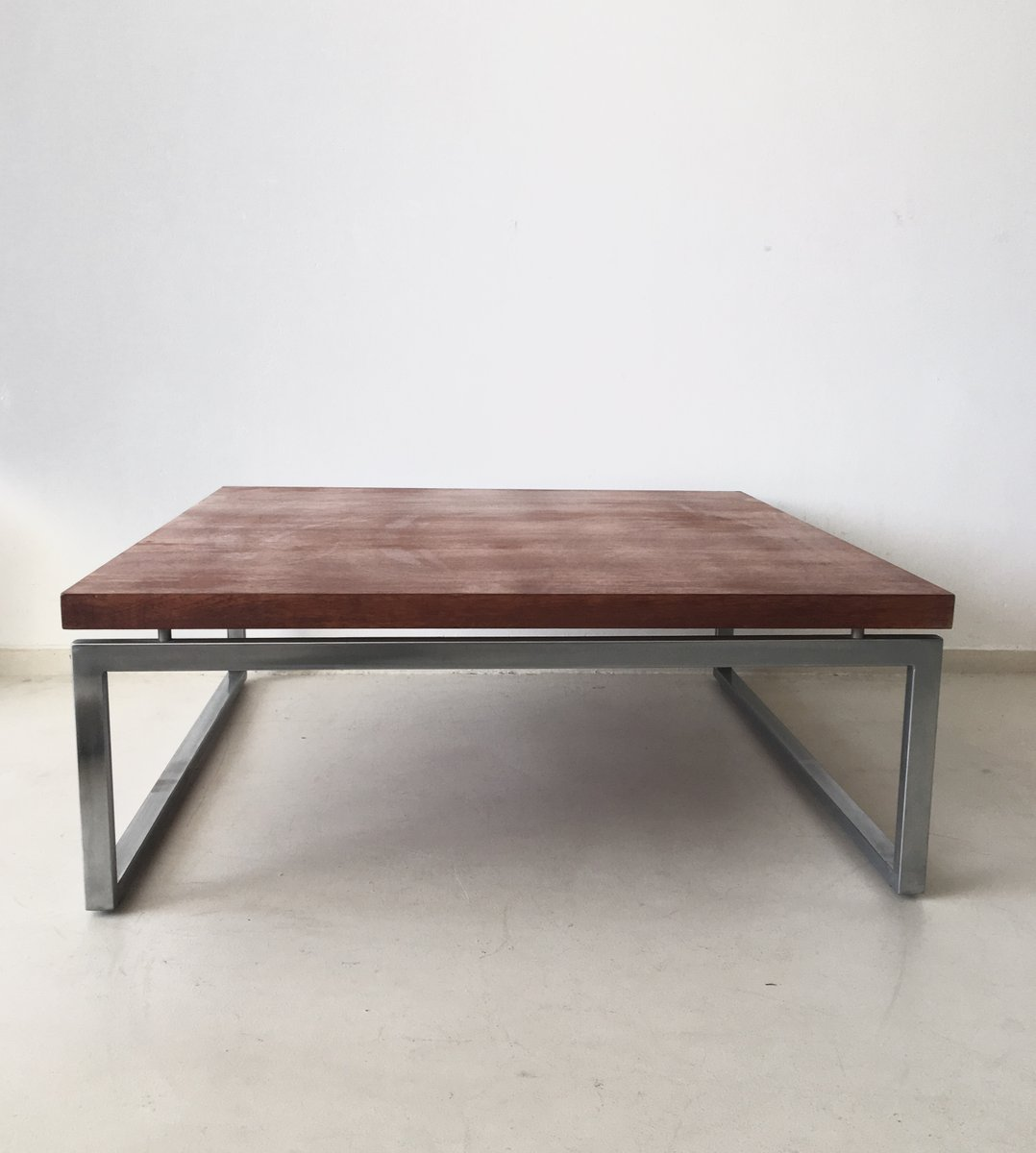 vintage industrial dutch coffee table for sale at pamono. Black Bedroom Furniture Sets. Home Design Ideas