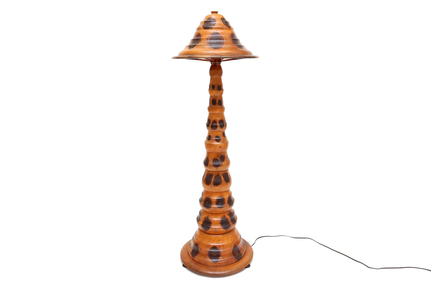 Brazilian butterfly wooden floor lamp 1930s for sale at for 1930s floor lamp