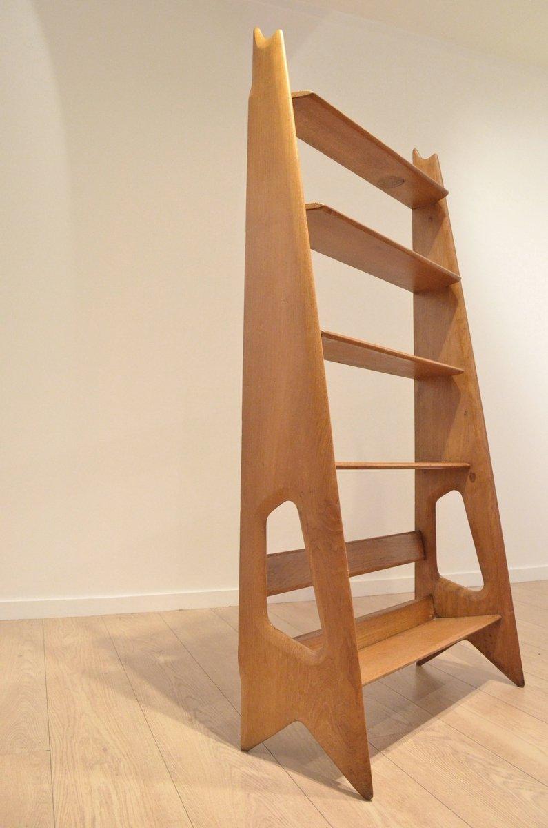 etag re sur pied en ch ne organique par ren guillerme pour guillerme et chambron 1950s en. Black Bedroom Furniture Sets. Home Design Ideas