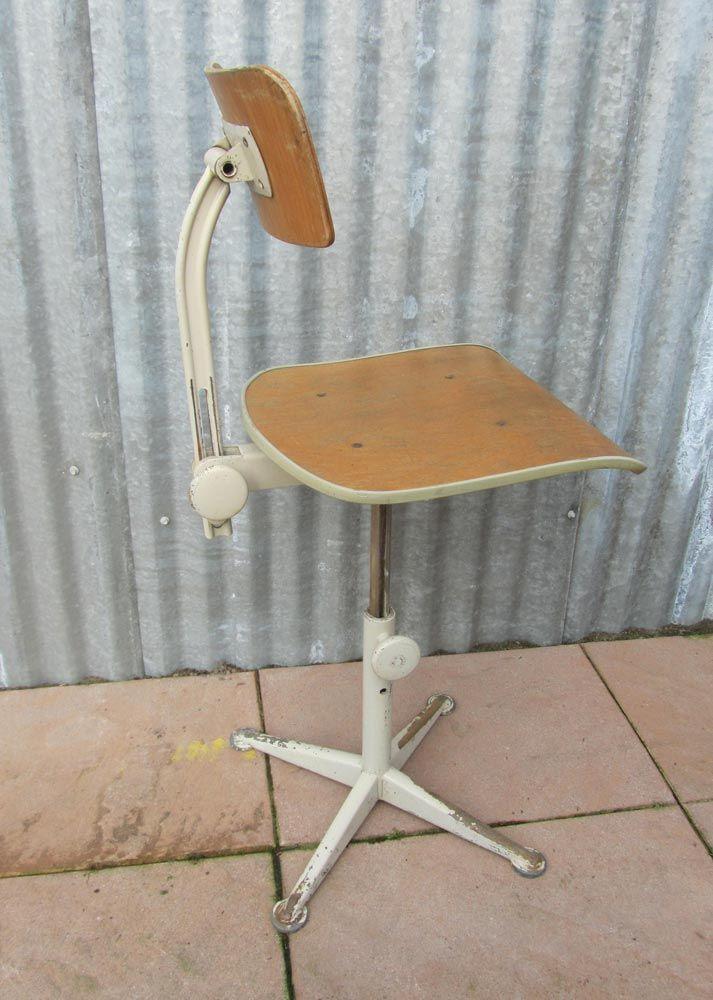 chaise de bureau d 39 architecte ajustable par friso kramer pour ahrend de cirkel 1964 en vente. Black Bedroom Furniture Sets. Home Design Ideas