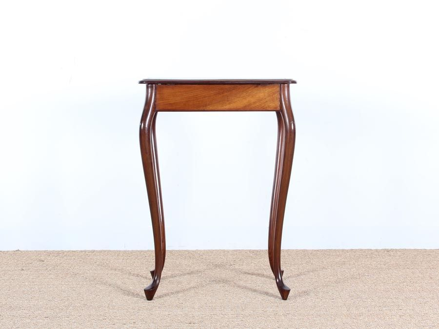 Danish Mahogany Sewing Table by Frits Henningsen, 1940s for sale ...