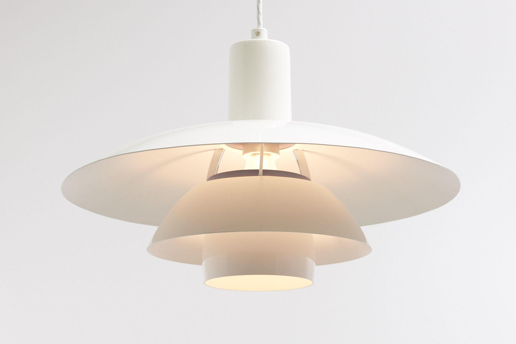 ph 4 4 1 2 lamps by poul henningsen for louis poulsen set. Black Bedroom Furniture Sets. Home Design Ideas