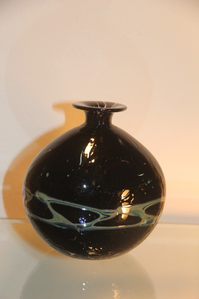 Murano Glass Vase 1950 For Sale At Pamono