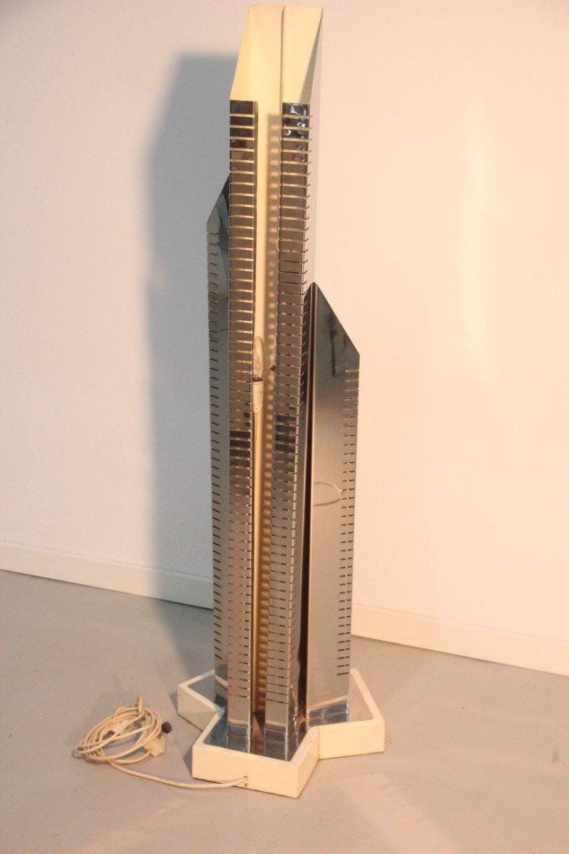 Skyscraper Sculptural Floor Lamp, 1970s