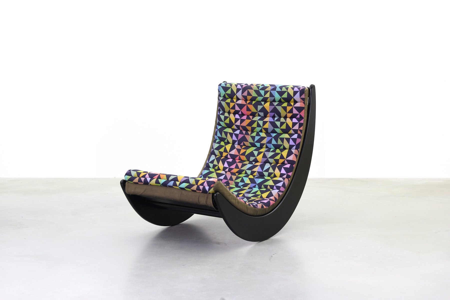 vintage relaxer rocking chair by verner panton for rosenthal for sale