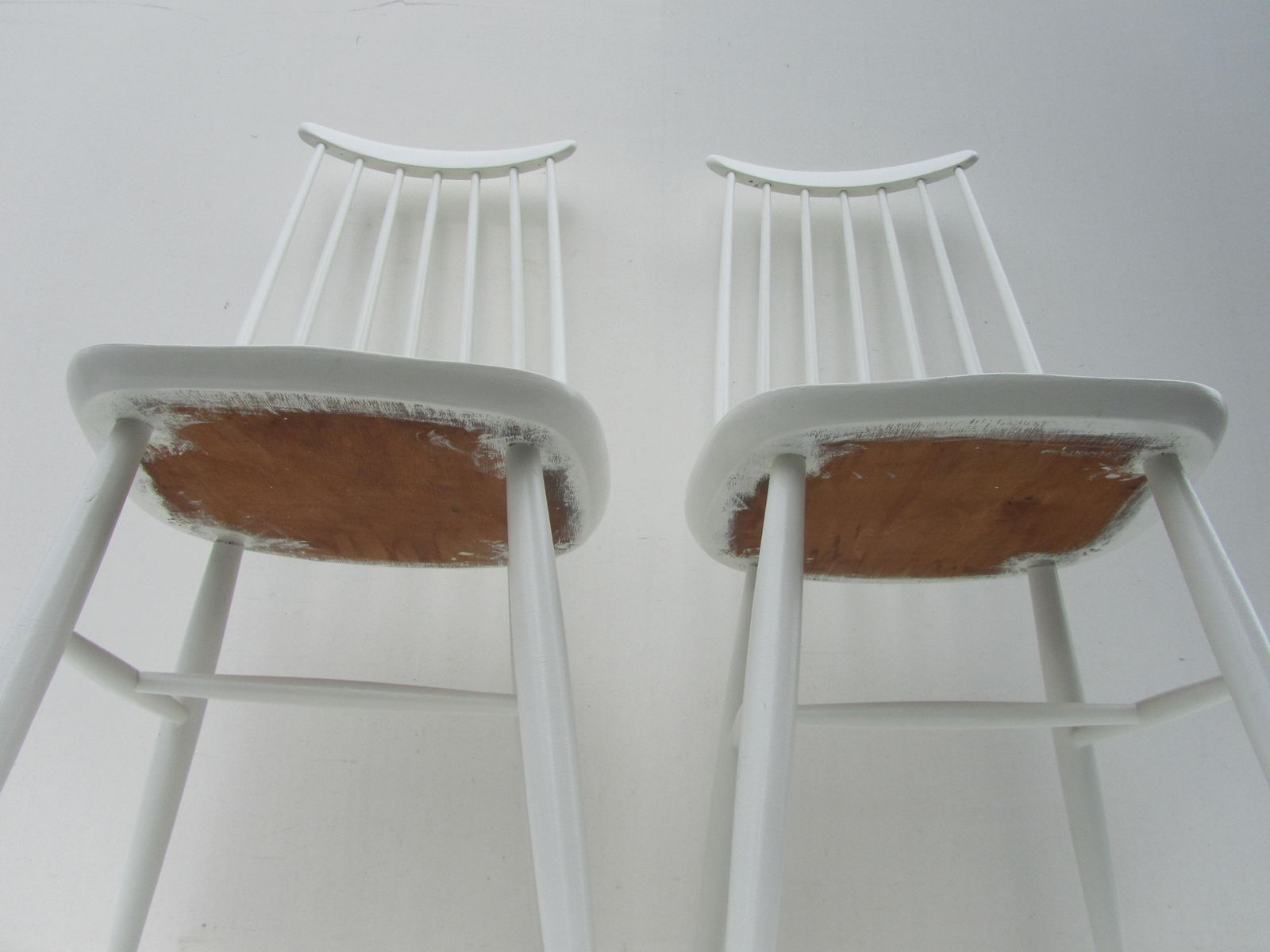 Spindle Back Dining Chairs 1960s Set of 2 for sale at Pamono
