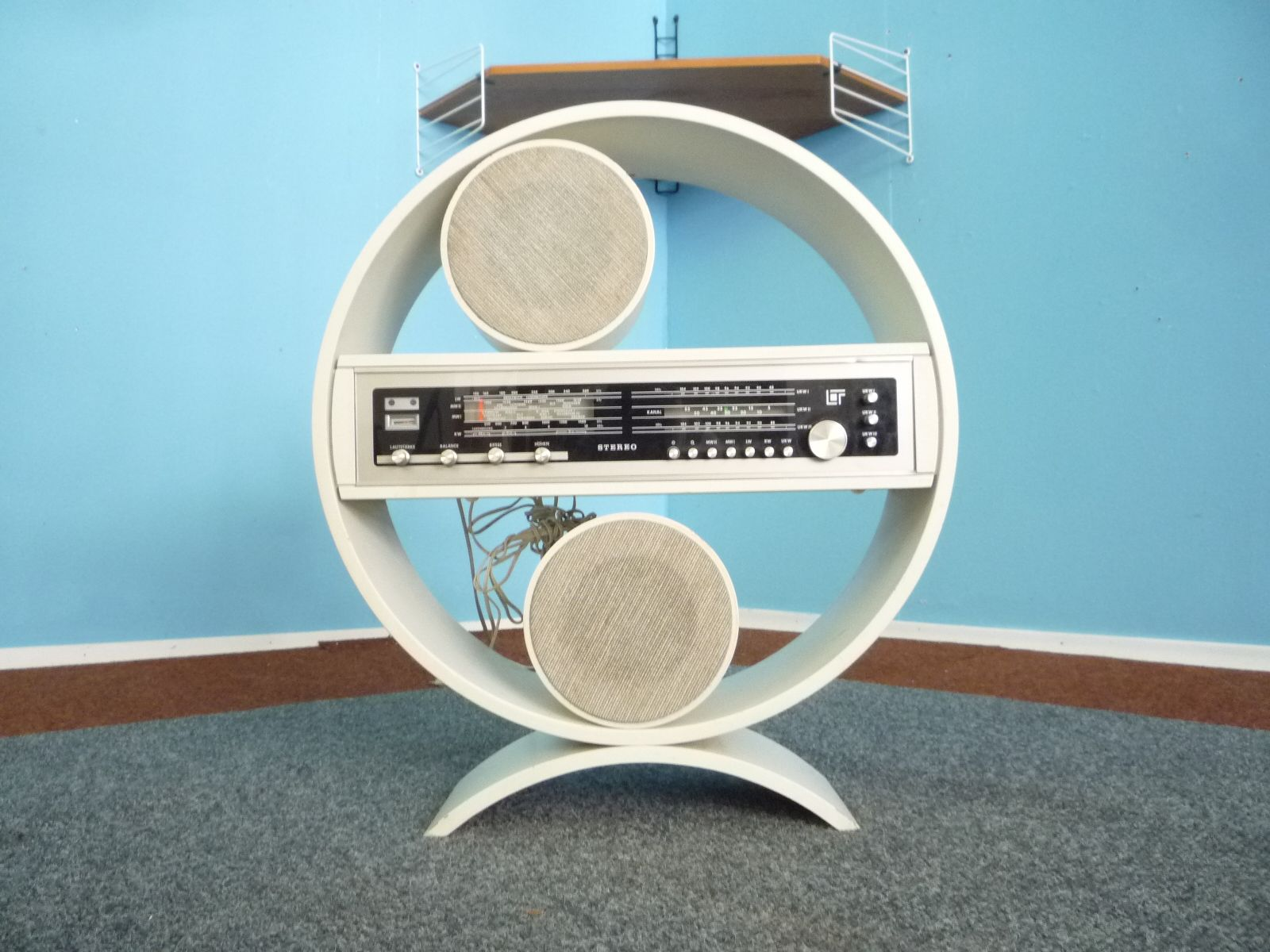 Space Age Furniture Space Age Circular Stereo Unit 1960s For Sale At Pamono