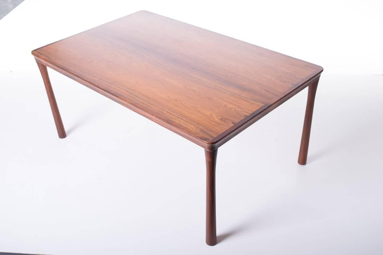 Mid Century Teak Scandinavian Dining Table 1960s For Sale At Pamono