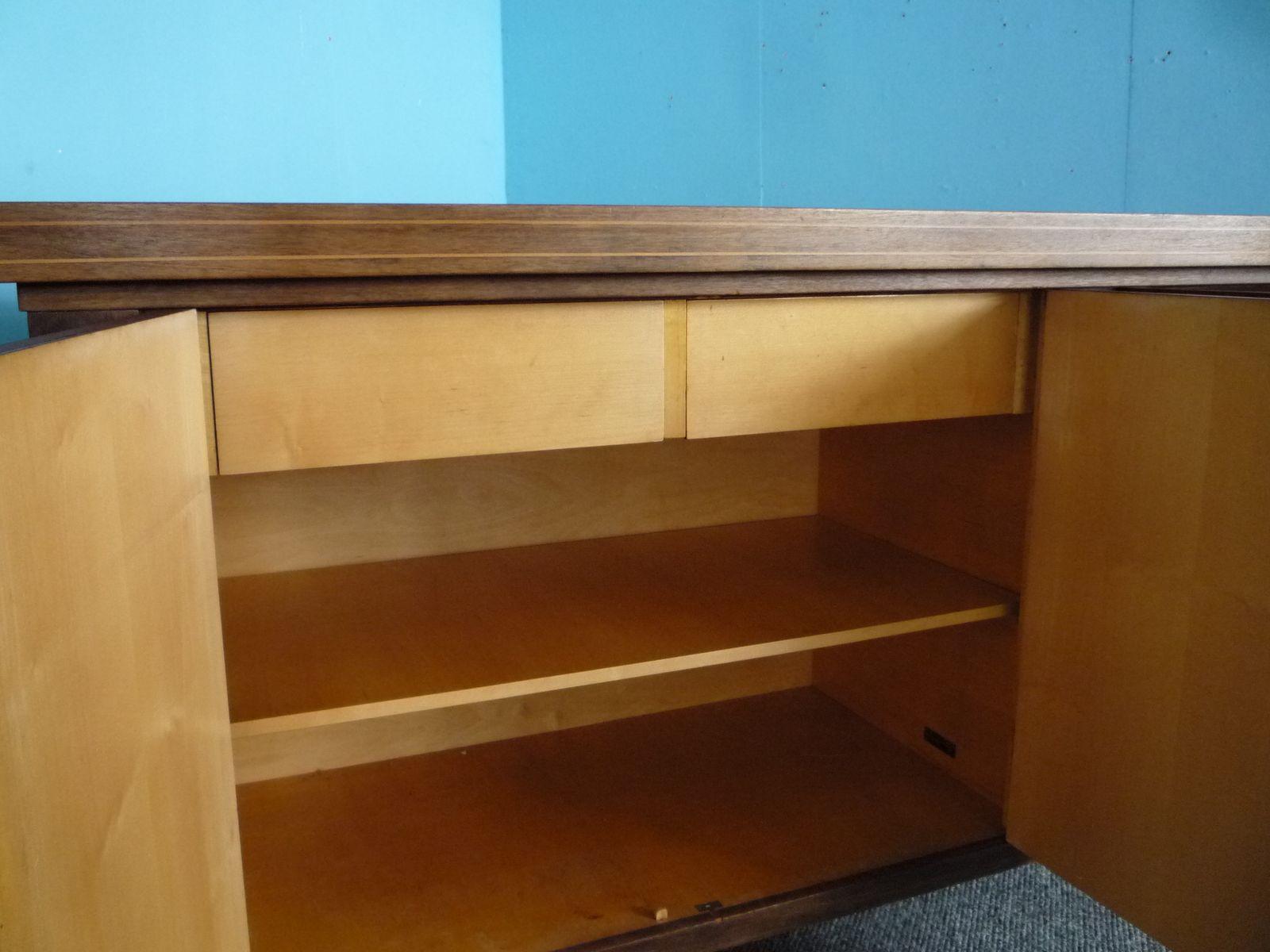 deutsches sideboard aus mahagoni von m bel may 1930er bei. Black Bedroom Furniture Sets. Home Design Ideas