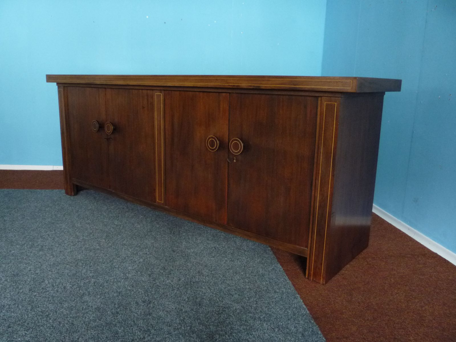 german mahogany sideboard from m bel may 1930s for sale. Black Bedroom Furniture Sets. Home Design Ideas