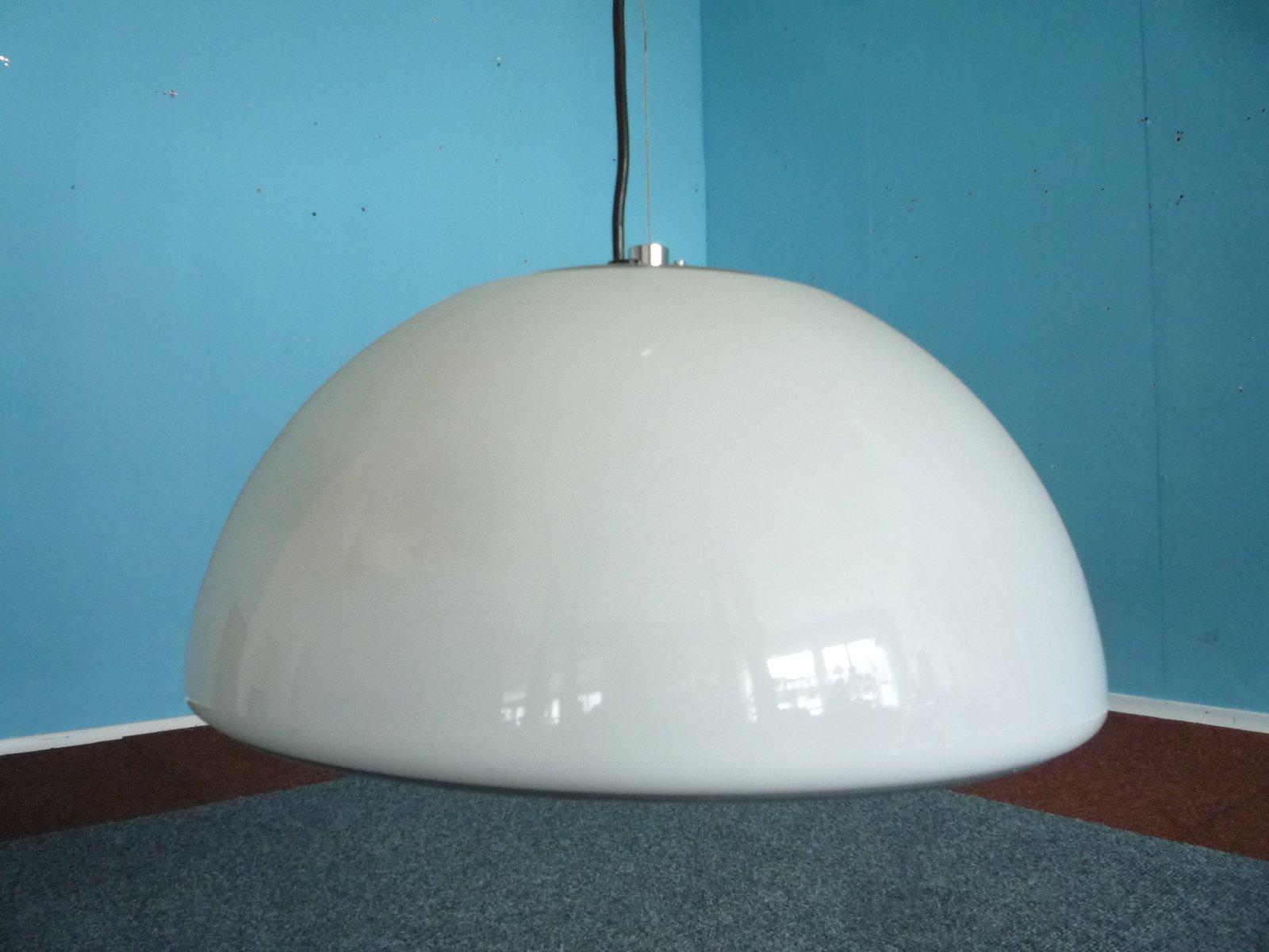 Vintage Plastic Pendant Lamp by Harvey Guzzini