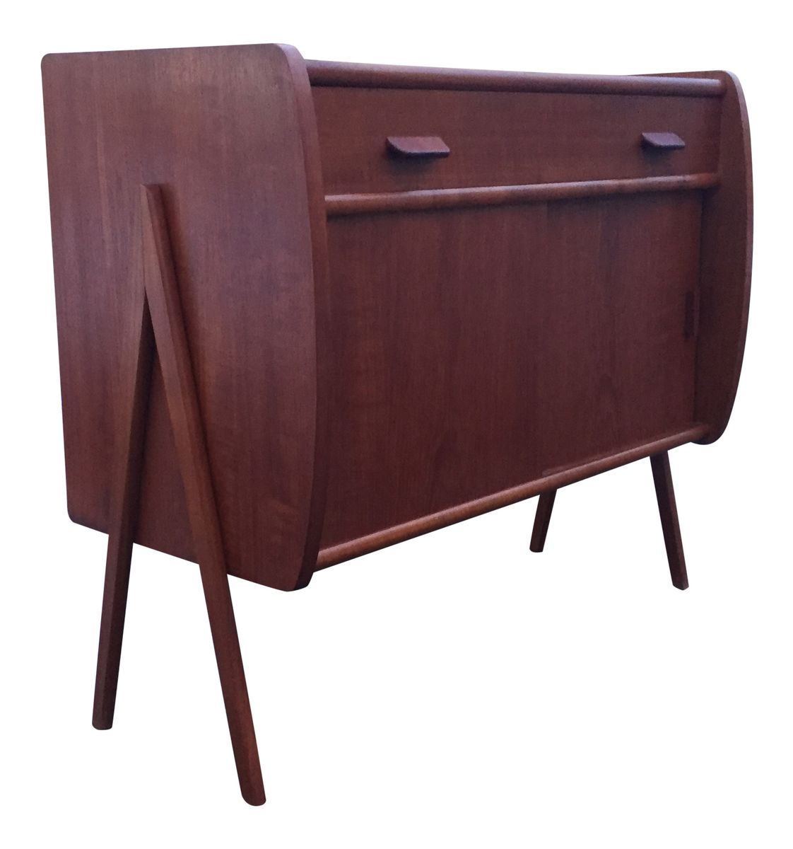 teak sideboard by poul m volther for fdb 1960s for sale. Black Bedroom Furniture Sets. Home Design Ideas