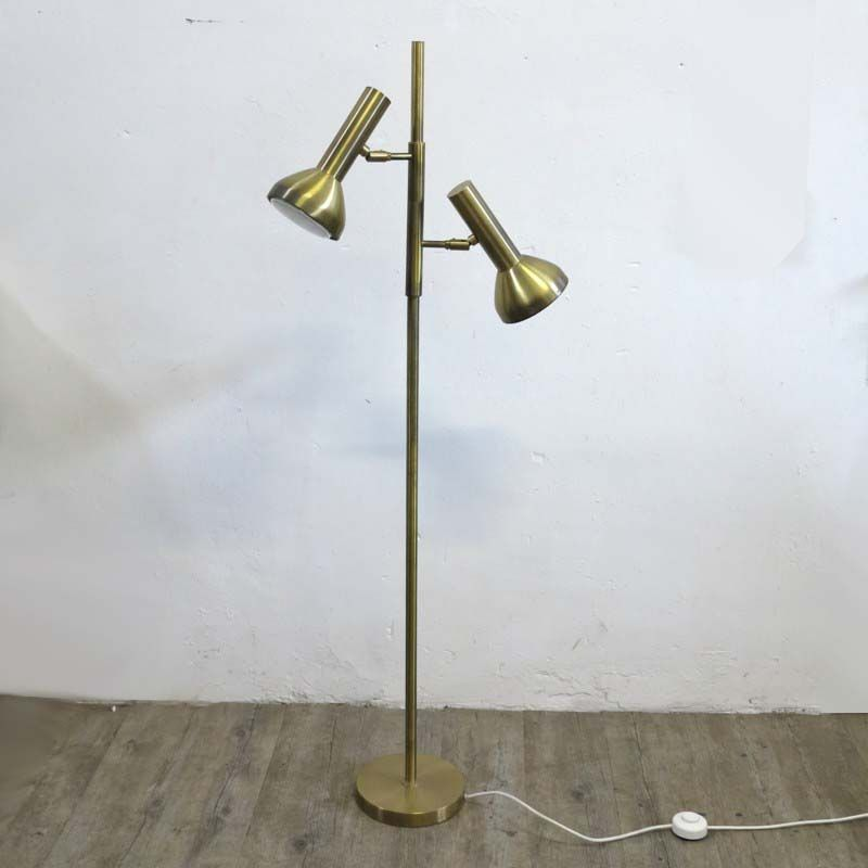 Brass Floor Lamp from Cosack, 1960s for sale at Pamono