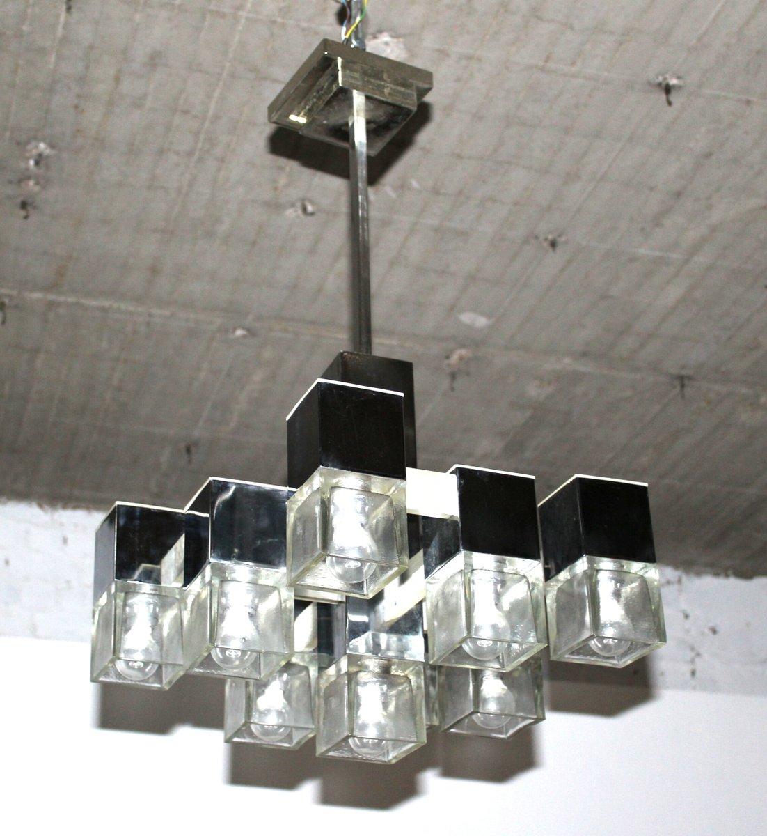 Cuba Kronleuchter Mit 8 Leuchten Von Gaetano Sciolari