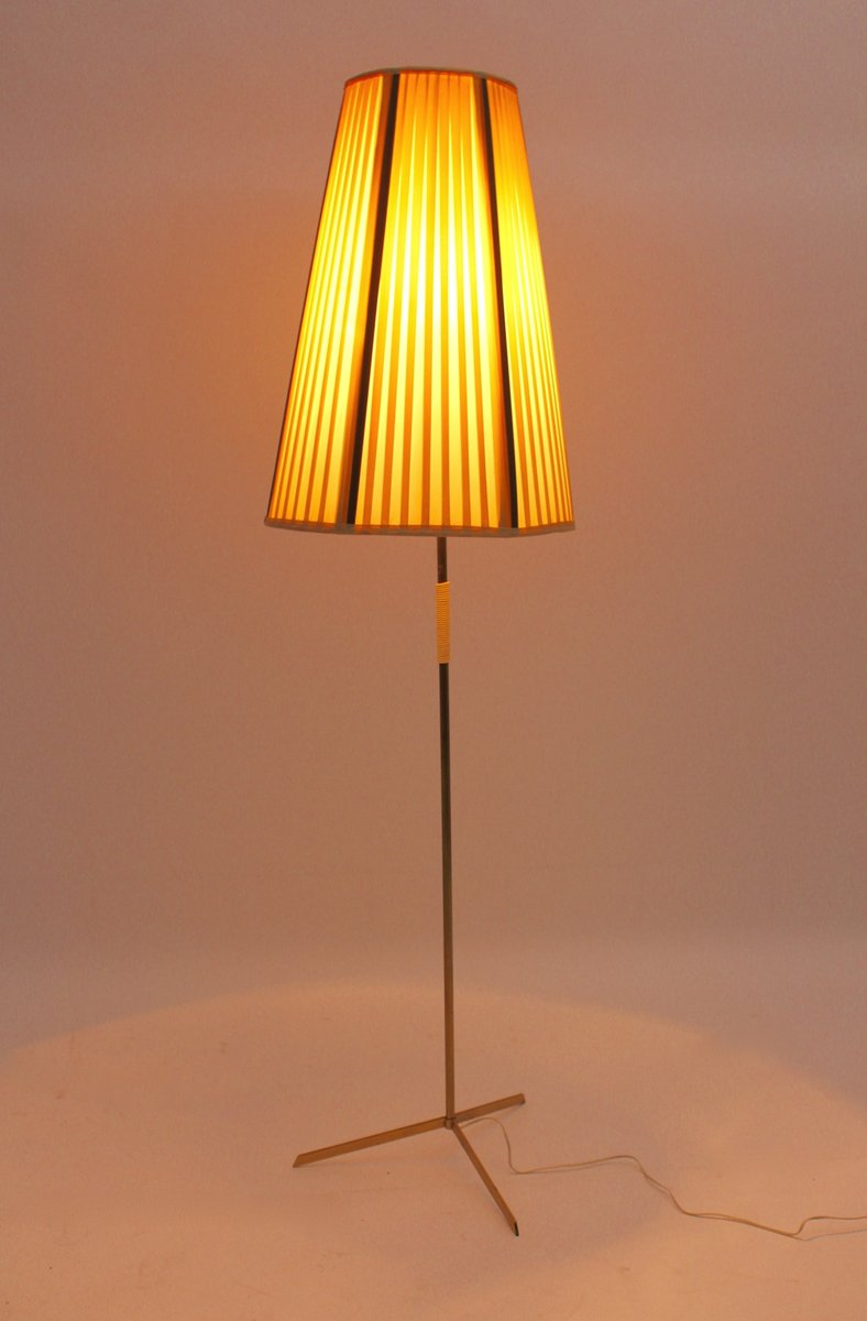 Austrian brass floor lamp 1950s for sale at pamono for 1950 s brass floor lamp
