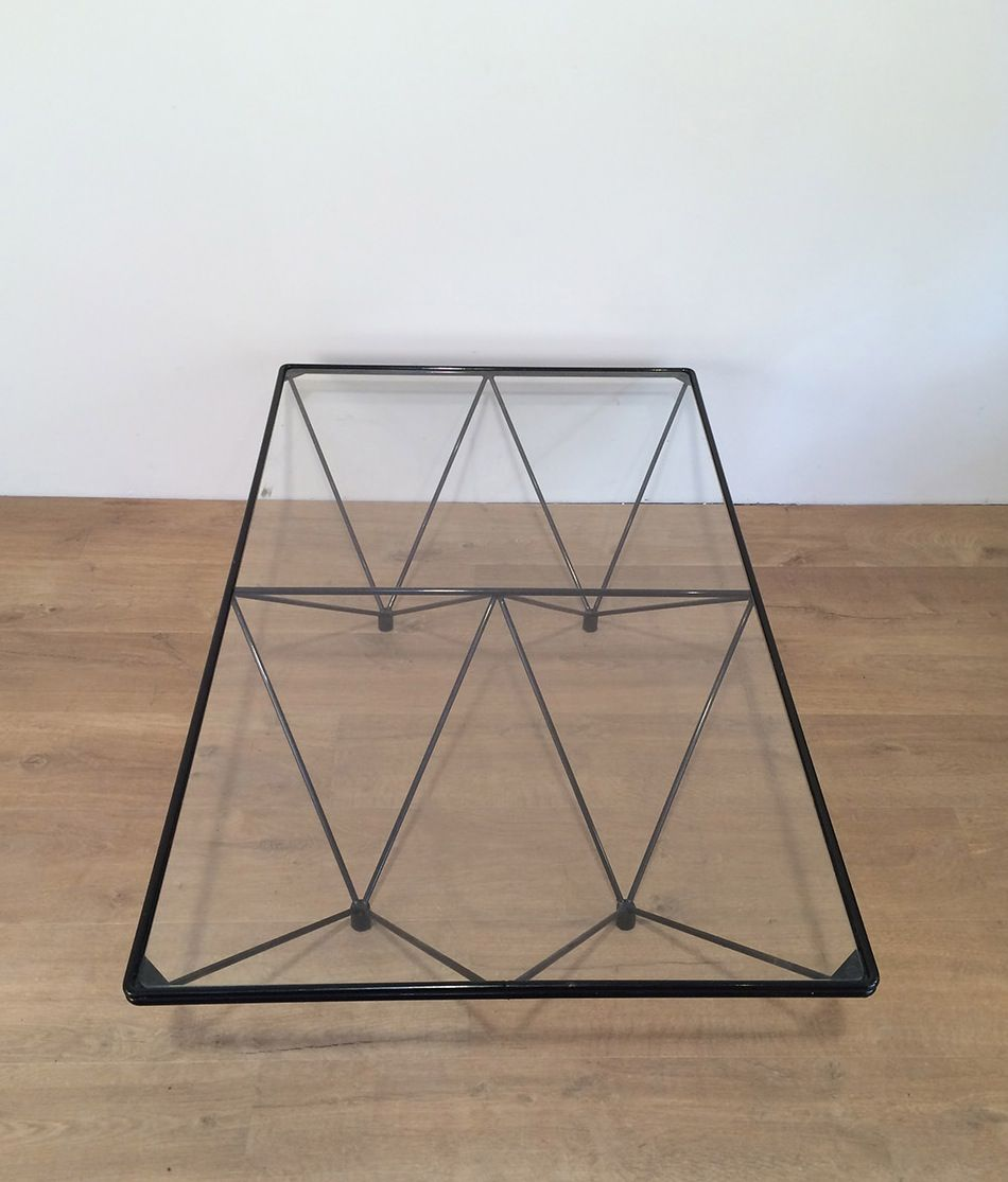 Vintage Glass Coffee Table By Paolo Piva For Sale At Pamono