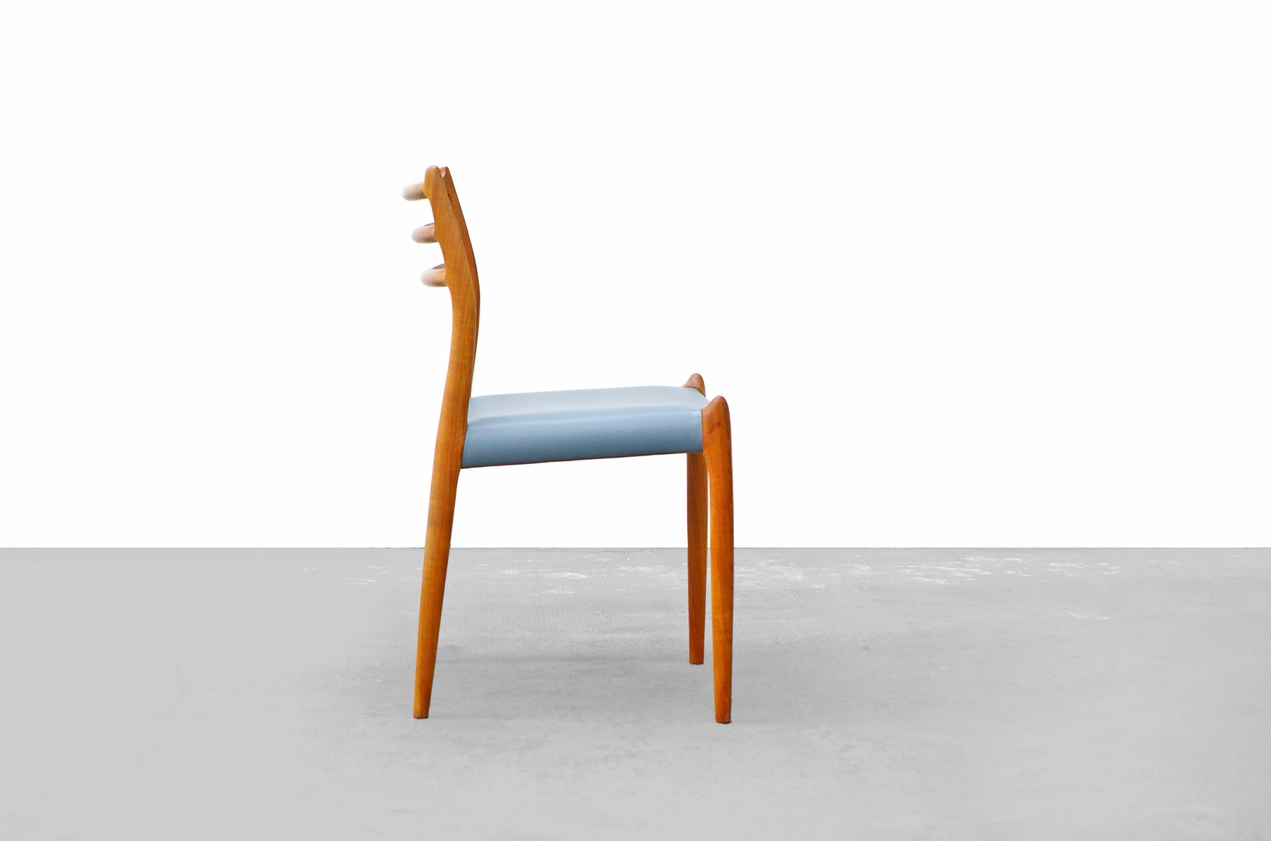 No 78 Teak Dining Chairs by Niels Mller for JL Mllers Set of