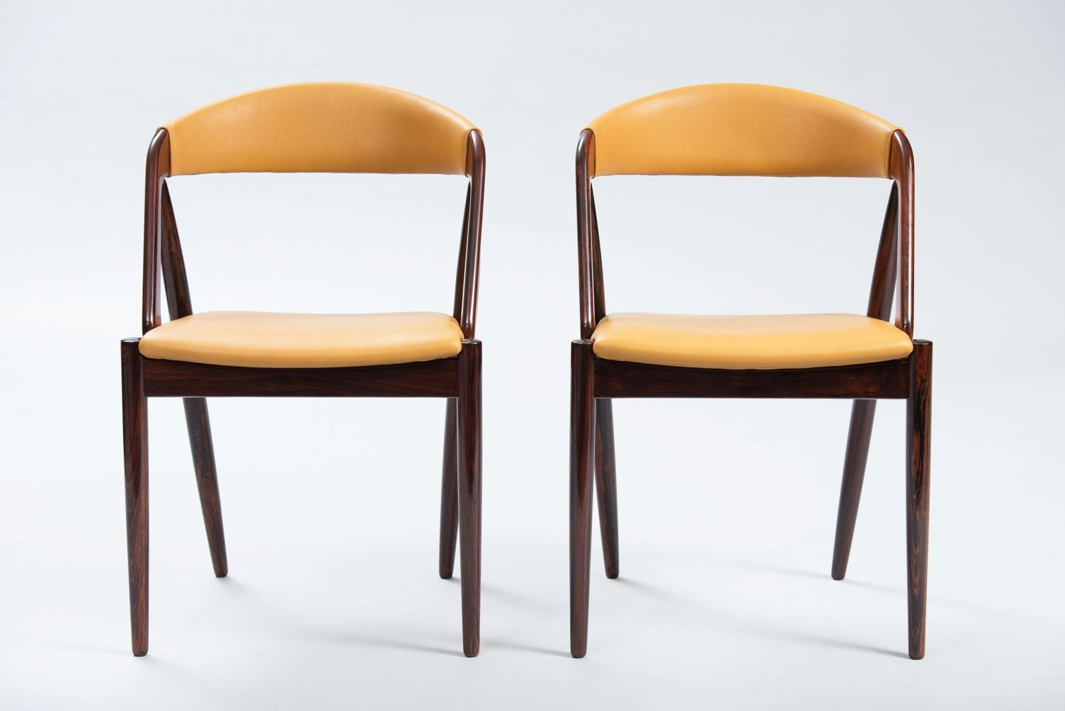 Rosewood Chairs By Kai Kristiansen Set Of 6 For Sale At Pamono