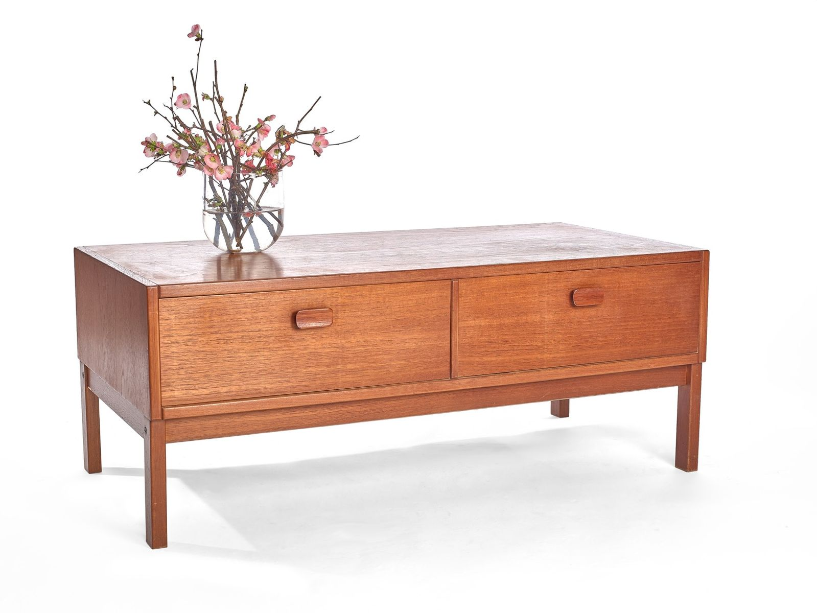 Teak low chest of drawers s for sale at pamono