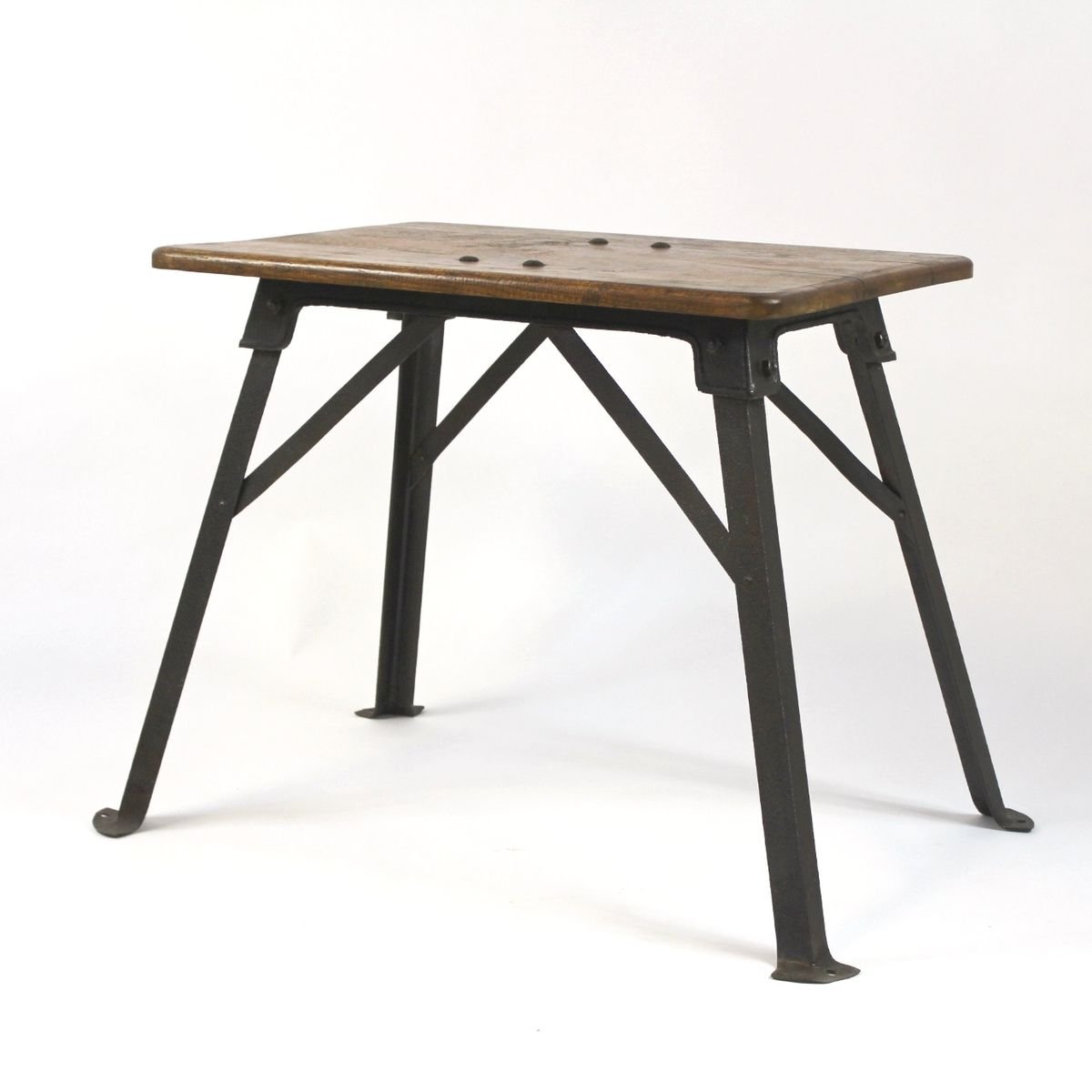 Hungarian Industrial Side Table For Sale At Pamono