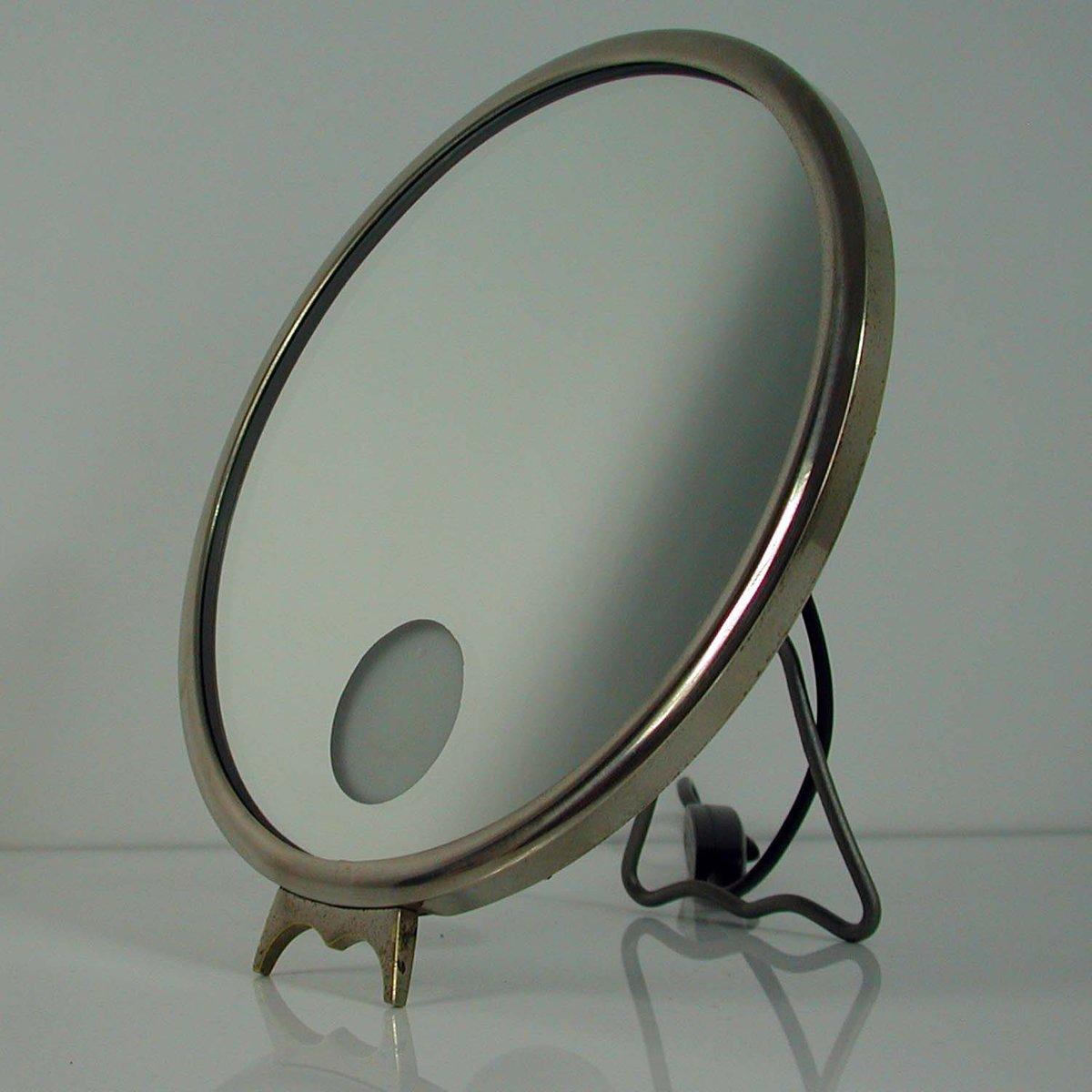 beleuchteter le mirophar kosmetikspiegel von brot 1930er. Black Bedroom Furniture Sets. Home Design Ideas