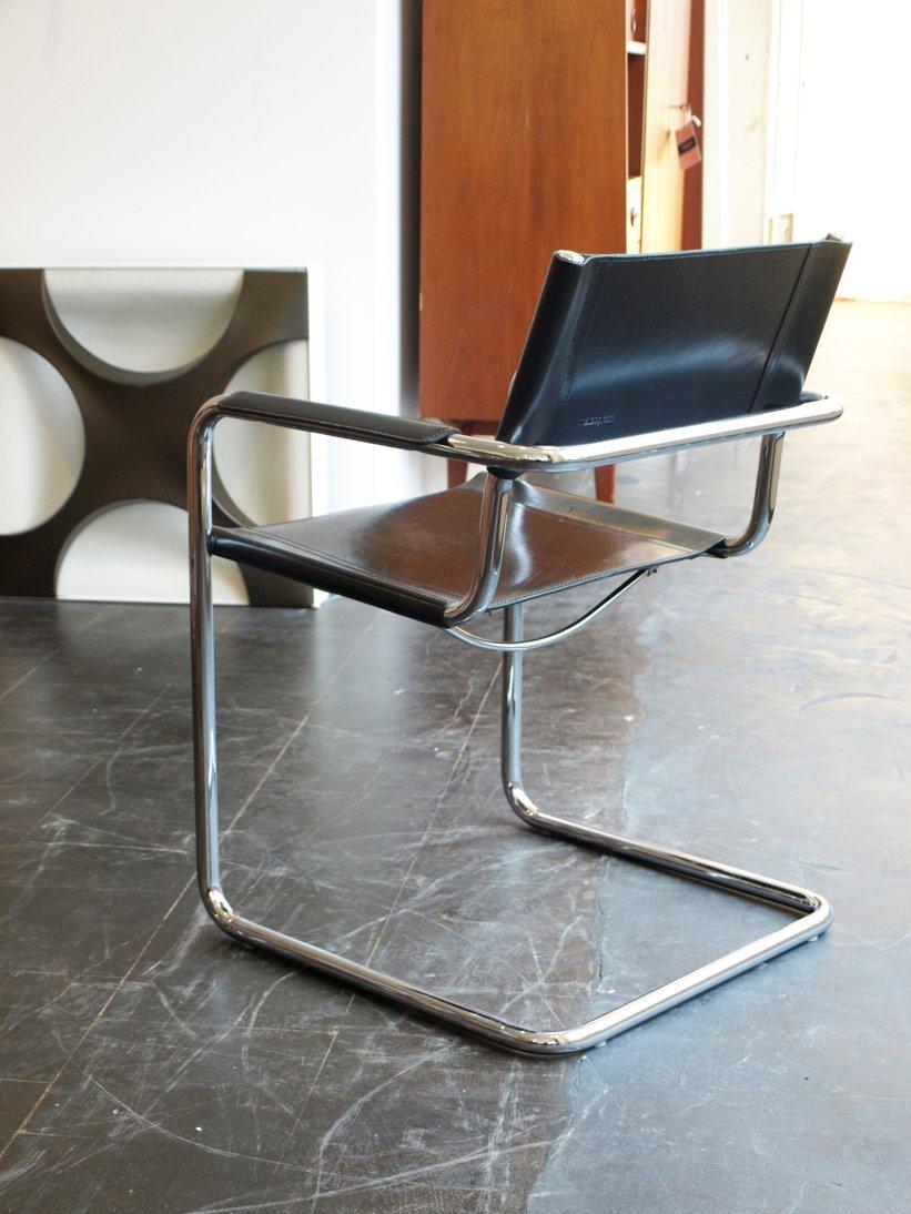 mg5 freischwinger stuhl von mart stam f r matteo grassi bei pamono kaufen. Black Bedroom Furniture Sets. Home Design Ideas