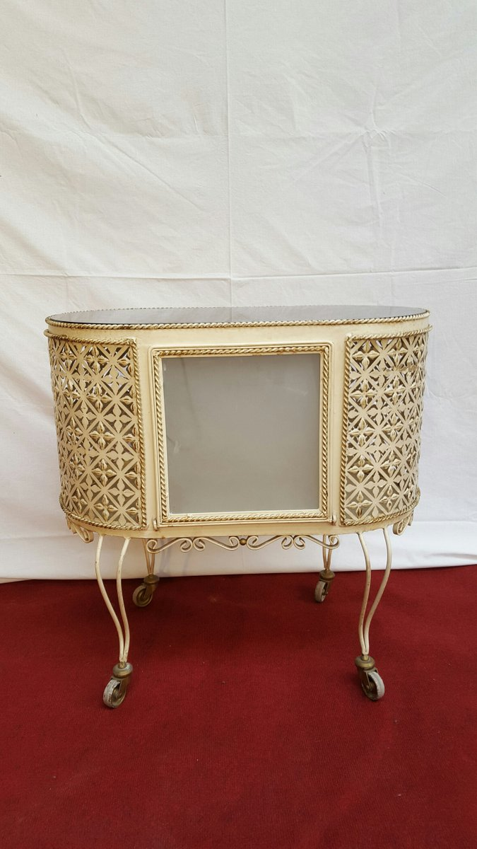 French Art Deco Bar Cart For Sale At Pamono