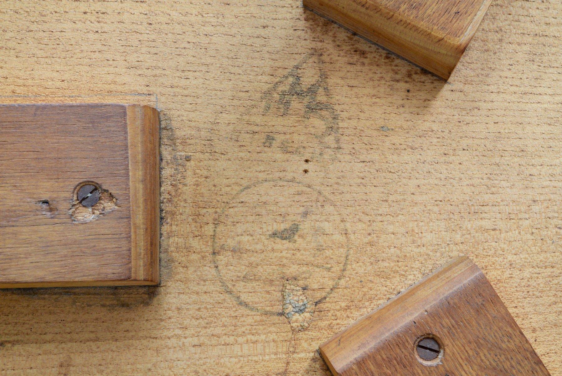 Couchtisch aus Birkenholz von Cees Braakman für Pastoe bei
