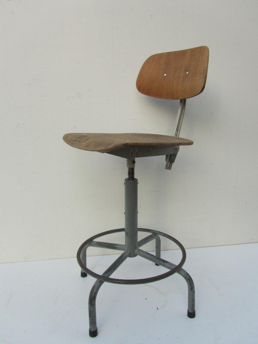 industrieller b ro drehstuhl bei pamono kaufen. Black Bedroom Furniture Sets. Home Design Ideas