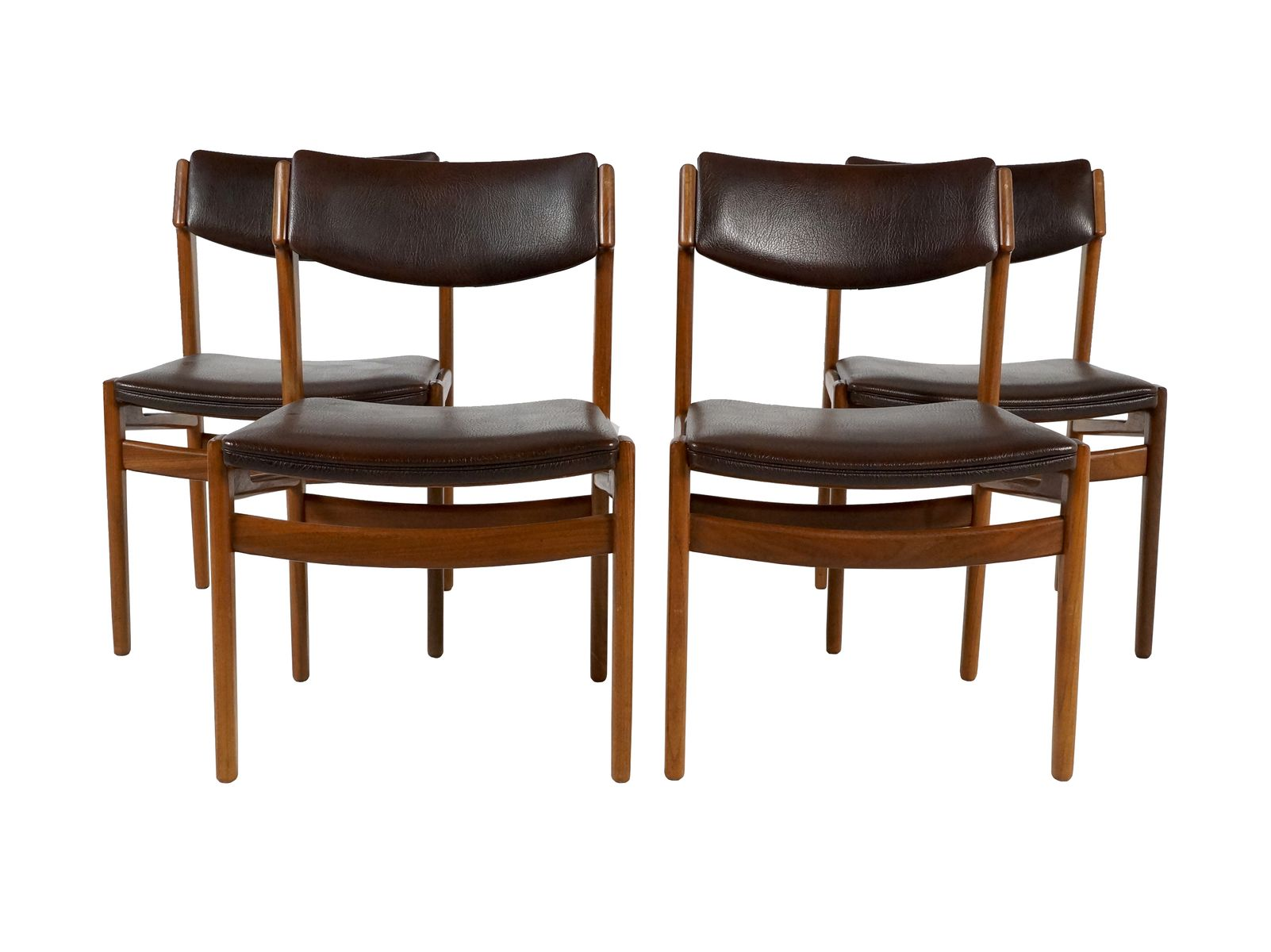 Teak Dining Chairs from TopForm 1960s Set of 4 for sale at Pamono