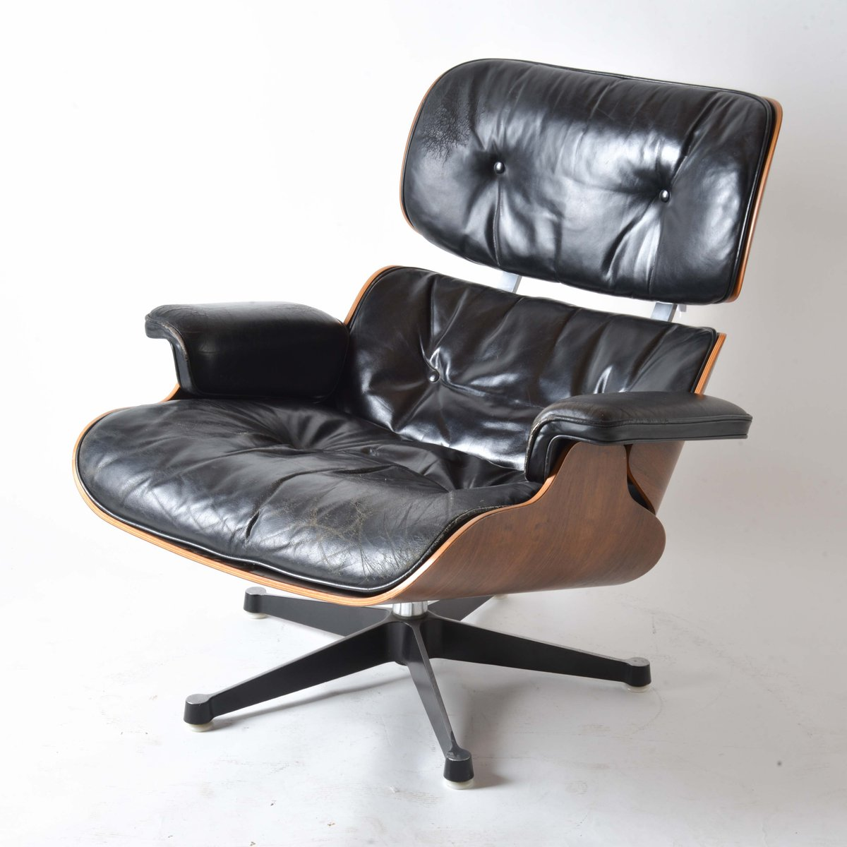 leather lounge chair by charles and ray eames for herman miller  - leather lounge chair by charles and ray eames for herman miller s