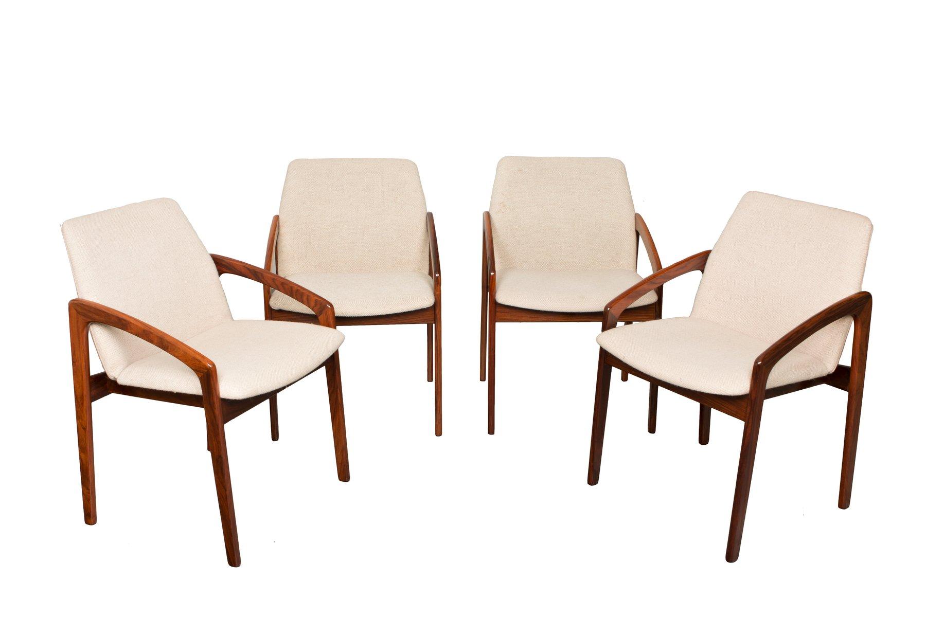 Rosewood dining chairs by kai kristiansen set of 10 for sale at pamono - Kai kristiansen chair ...