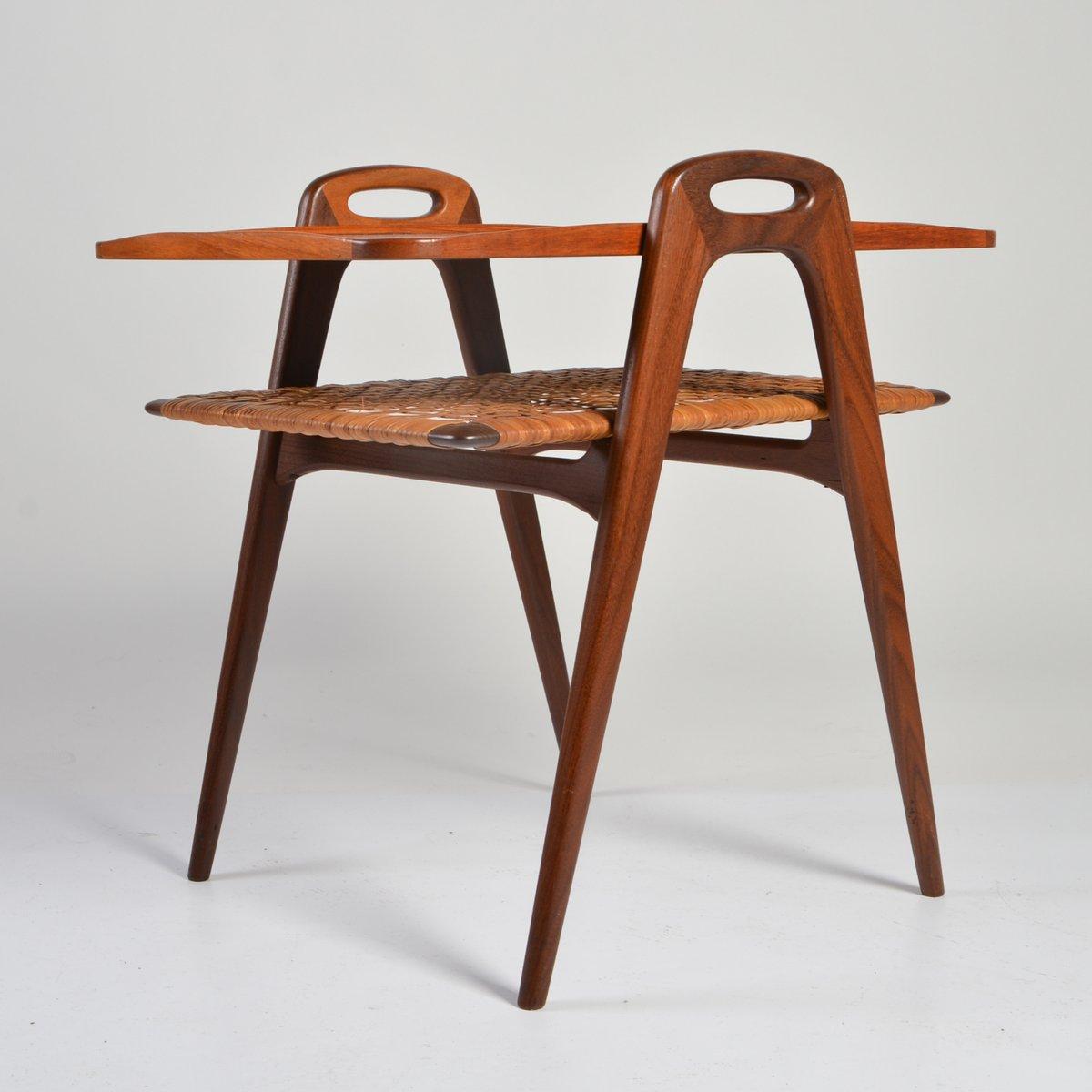 beistelltisch im d nischen design 1960er bei pamono kaufen. Black Bedroom Furniture Sets. Home Design Ideas