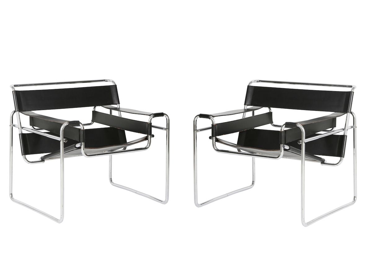 Wassily Chair wassily chairs by marcel breuer for gavina 1960s set of 2 for