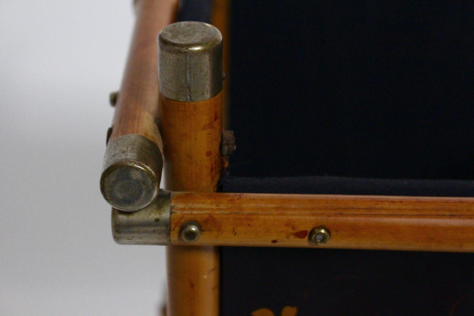 art deco papierkorb aus bambusholz 1920er bei pamono kaufen. Black Bedroom Furniture Sets. Home Design Ideas