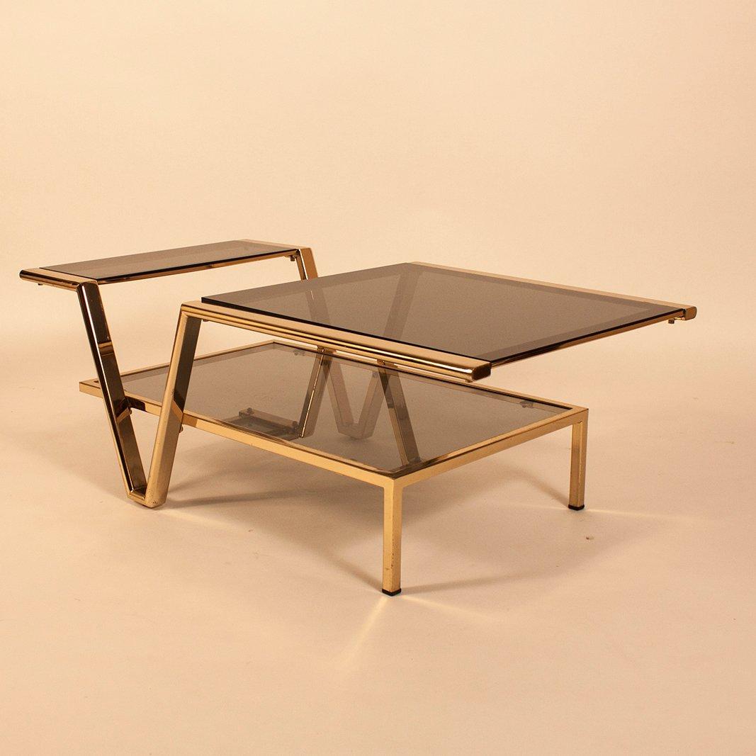 table basse verre fume maison design. Black Bedroom Furniture Sets. Home Design Ideas