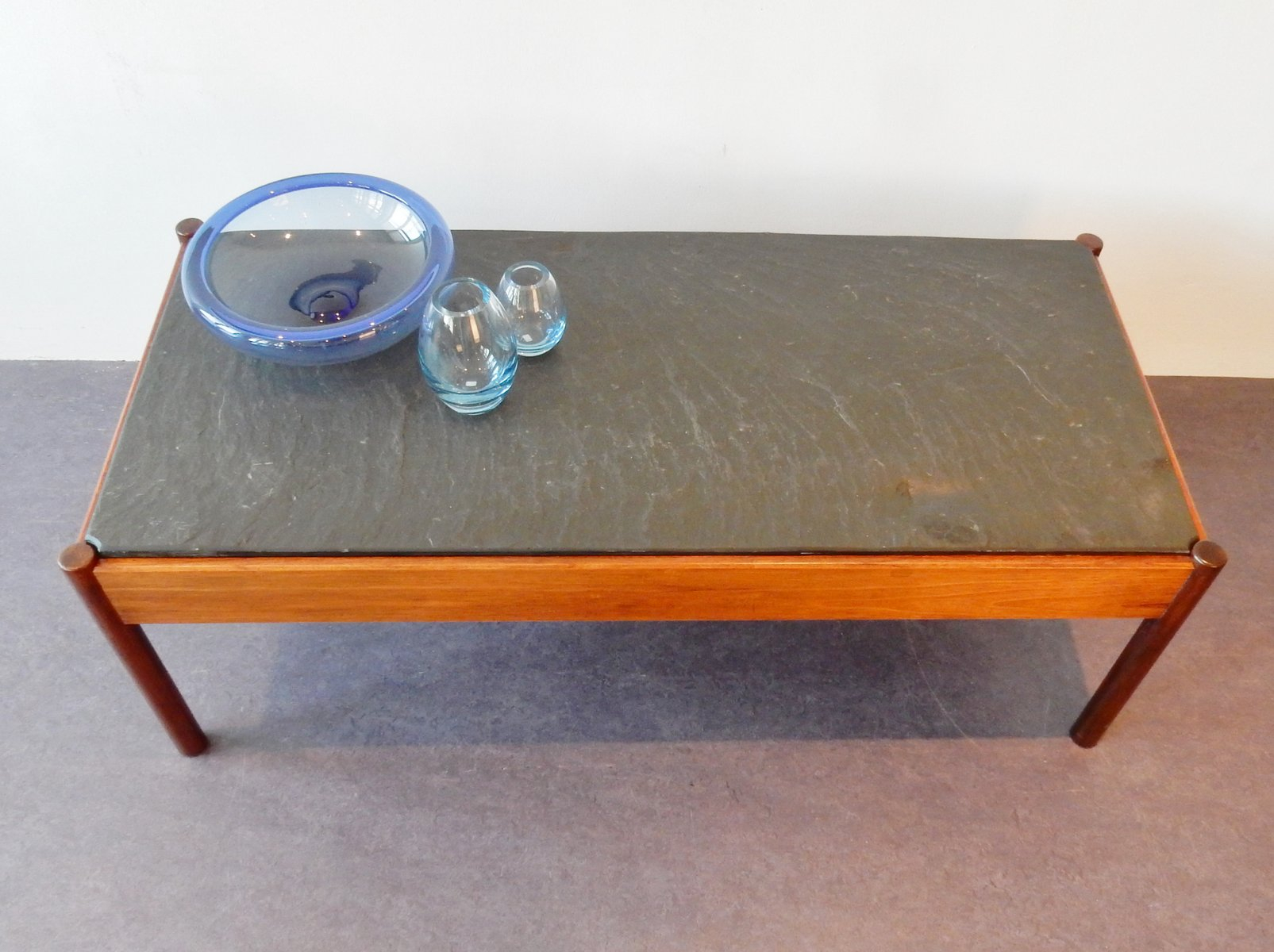 Vintage stone tile coffee table for sale at pamono vintage stone tile coffee table 9 56500 geotapseo Choice Image