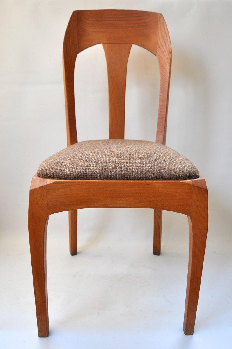 chaises de salon par heinrich eckinger suisse 1950s set de 4 en vente sur pamono. Black Bedroom Furniture Sets. Home Design Ideas